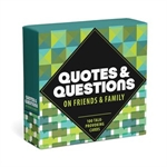 Quotes and Questions - Friends and Family-card & dice games-The Games Shop