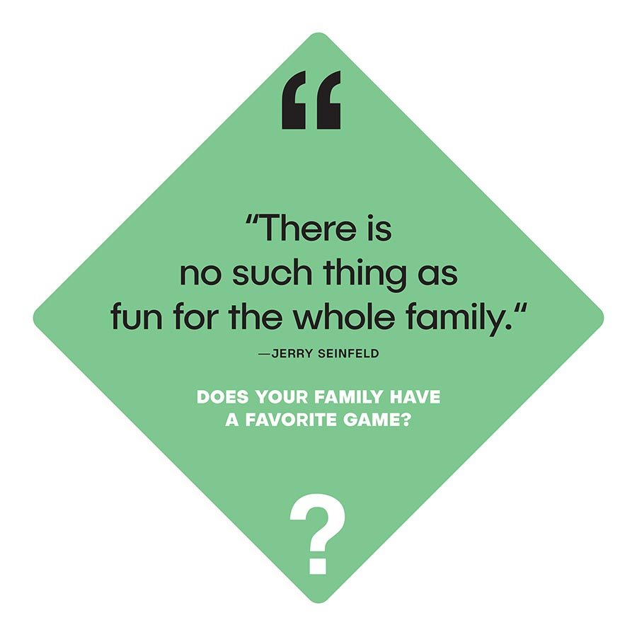 quotes and questions friends and family card dice games