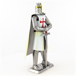 Metal Earth - Iconx - Templar Knight-construction-models-craft-The Games Shop