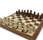 Chess Set - Medieval (Polystone)-chess-The Games Shop