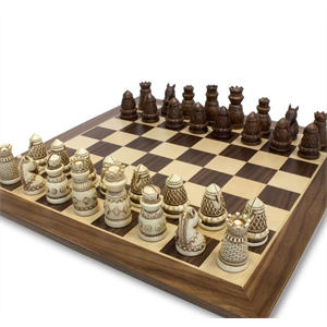 Chess Set - Medieval (Polystone)