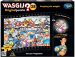 Wasgij Original - #28 Dropping the Weight-jigsaws-The Games Shop
