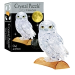 3D Crystal Puzzle - Owl-mindteasers-The Games Shop