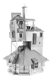 Metal Earth - Harry potter - the Burrow-construction-models-craft-The Games Shop