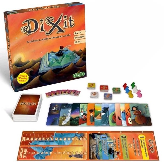 Dixit - core game - Board Games-General : The Games Shop | Board games |  Card games | Jigsaws | Puzzles | Collectables | Australia -