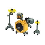 Nanoblock - Small Drum Set-construction-models-craft-The Games Shop