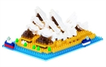 Nanoblock - Large Sydney Opera House-construction-models-craft-The Games Shop