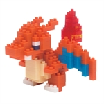 Nanoblock - Small Pokemon Charizard-construction-models-craft-The Games Shop