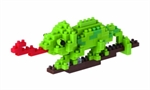 Nanoblock - Small Chameleon-construction-models-craft-The Games Shop