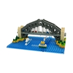 Nanoblock - Large Sydney Harbour Bridge-construction-models-craft-The Games Shop