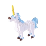 Nanoblock - Small Unicorn-construction-models-craft-The Games Shop