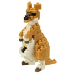 Nanoblock- Small Kangaroo 2.0-construction-models-craft-The Games Shop