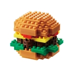 Nanoblock - Small Hamburger-construction-models-craft-The Games Shop