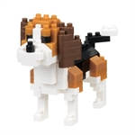 Nanoblock - Small Beagle-construction-models-craft-The Games Shop