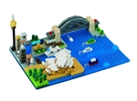 Nanoblock - Deluxe Sydney Harbour Scene-construction-models-craft-The Games Shop