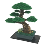 Nanoblock - Deluxe Bonsai Matsu-construction-models-craft-The Games Shop