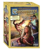 Carcassonne - Princess & Dragon expansion-board games-The Games Shop