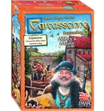 Carcassonne -Abbey & Mayor expansion-board games-The Games Shop
