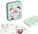 Playing Cards - Cat Lovers single deck-card & dice games-The Games Shop