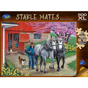 Holdson - 500 piece XL Stable Mates - Back in the Harness