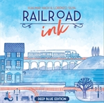 Railroad Ink - Deep Blue edition-board games-The Games Shop