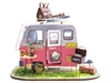 DIY Mini House - Happy Camper-construction-models-craft-The Games Shop