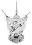 Metal Earth Iconx - A Game of Thrones Stark Sigil-construction-models-craft-The Games Shop