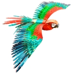 Metal Earth Iconx - Parrot-construction-models-craft-The Games Shop