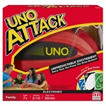 Uno Attack-card & dice games-The Games Shop