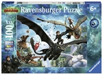 Ravensburger - 100 piece - How to Train Your Dragon Hidden World-jigsaws-The Games Shop