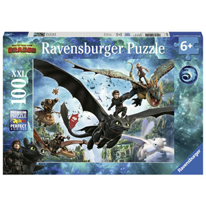 Ravensburger - 100 piece - How to Train Your Dragon Hidden World