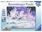 Ravensburger - 150 piece - Unicorns on the Beach-jigsaws-The Games Shop