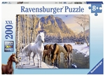 Ravensburger - 200 piece - Winter Horses-jigsaws-The Games Shop