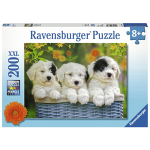 Ravensburger - 200 piece - Cuddly Puppies