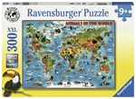 Ravensburger - 300 piece - Animals of the World-jigsaws-The Games Shop