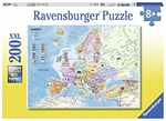 Ravensburger - 200 piece - European Map-jigsaws-The Games Shop