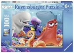 Ravensburger - 100 piece - Finding Dory Adventure Brewing-jigsaws-The Games Shop