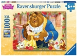 Ravensburger - 100 piece - Glitter Disney Belle and Beast-jigsaws-The Games Shop