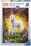 Ravensburger - 500 piece - Unicorn and Foal-jigsaws-The Games Shop