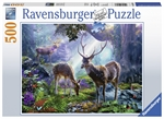 Ravensburger - 500 piece - Deer in the Wild-jigsaws-The Games Shop