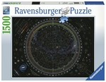 Ravensburger - 1500 piece - Map of the Universe-jigsaws-The Games Shop