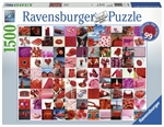 Ravensburger - 1500 piece - Beautiful Red Things-jigsaws-The Games Shop
