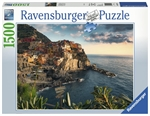 Ravensburger - 1500 piece - Cinque Terre Viewpoint-jigsaws-The Games Shop