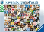 Ravensburger - 1500 piece - 99 Cats-jigsaws-The Games Shop