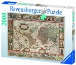 Ravensburger - 2000 piece - Map of the World from 1650-jigsaws-The Games Shop