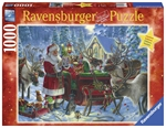 Ravensburger - 1000 piece Xmas - Packing the Sleigh-jigsaws-The Games Shop