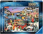 Ravensburger - 1000 piece Xmas - Home for Christmas-jigsaws-The Games Shop