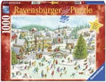 Ravensburger - 1000 piece Xmas - Playful Christmas Day-jigsaws-The Games Shop