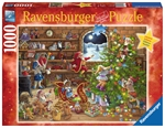 Ravensburger - 1000 piece Xmas - Countdown to Christmas-jigsaws-The Games Shop