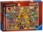 Ravensburger - 1000 piece - Thompson Awesome Alphabet A-jigsaws-The Games Shop